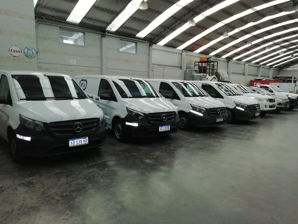 flota de automóviles